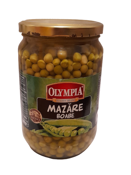 OLYMPIA Mazăre boabe 680gr
