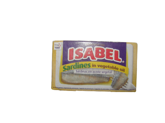 Isabel sardina in ulei vegetal 81gr